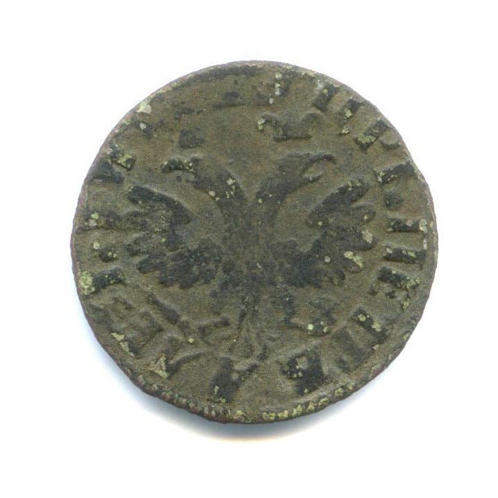Денга (1/4 копейки) - Петр I Великий 1714 года (Российская Империя)