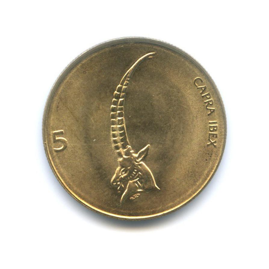 5 толаров 2000 года (Словения)