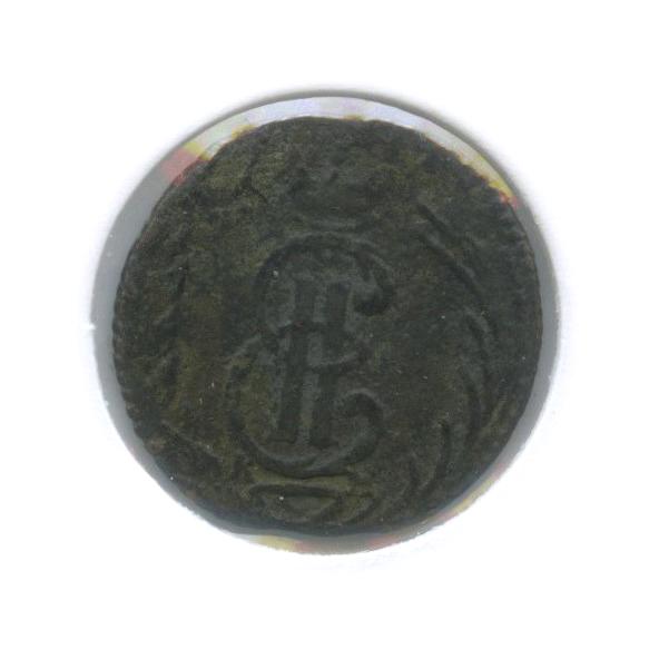 Полушка (1/4 копейки), вхолдере 1769 года КМ (Российская Империя)