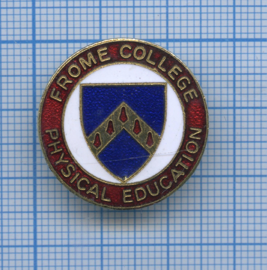 Знак «Frome college physical education» (Великобритания)