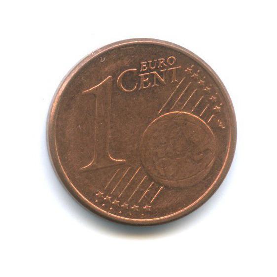1 цент 2009 года F (Германия)