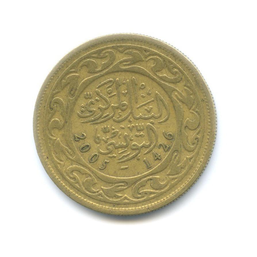 100 миллимов 2005 года (Тунис)