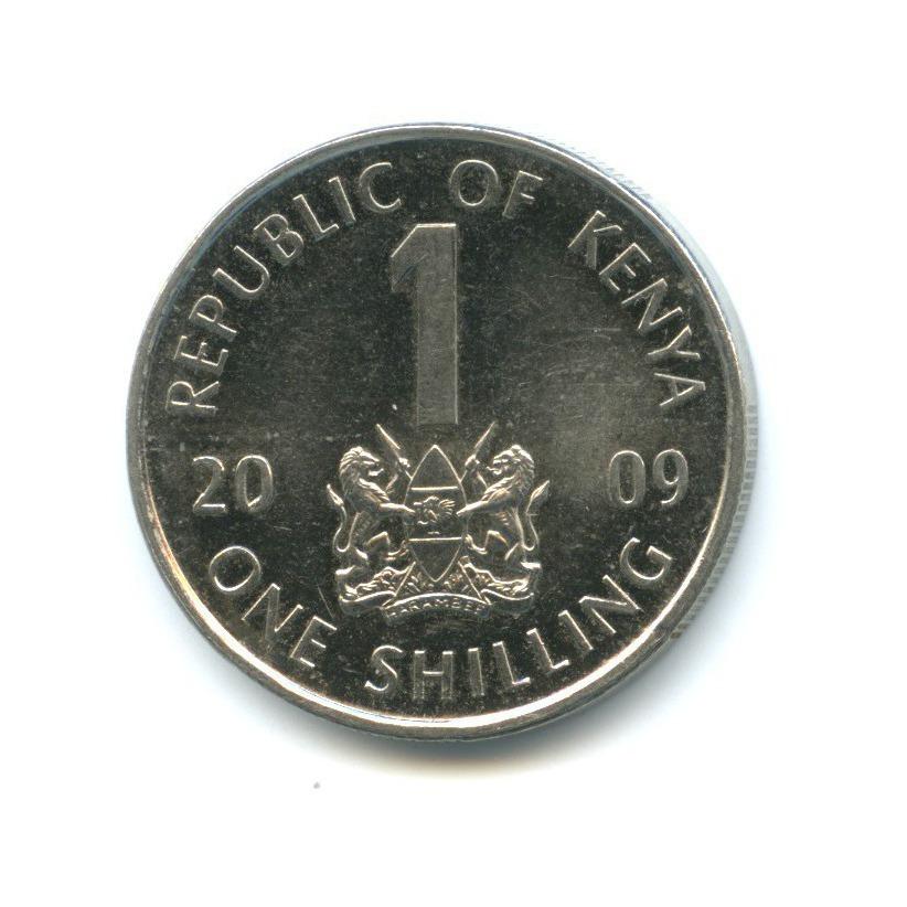 1 шиллинг 2009 года (Кения)