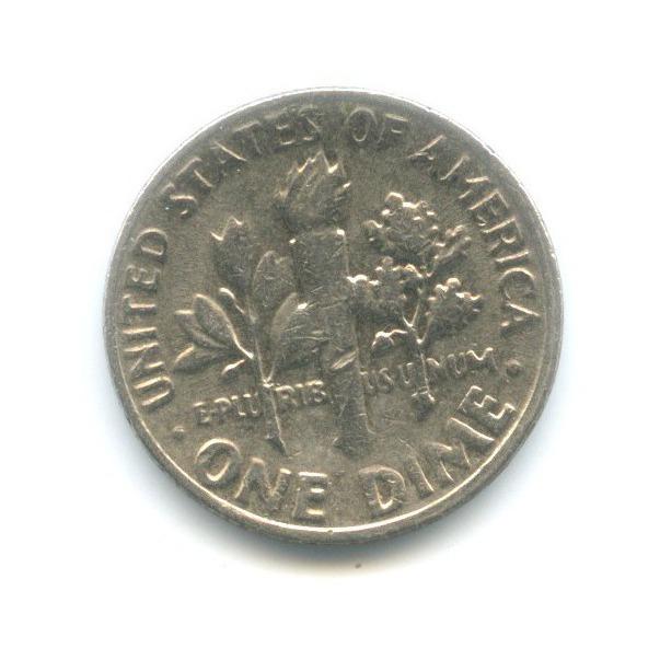 10 центов (дайм) 1980 года P (США)