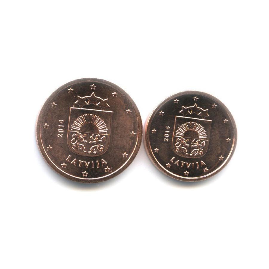 Набор монет 2014 года (Латвия)