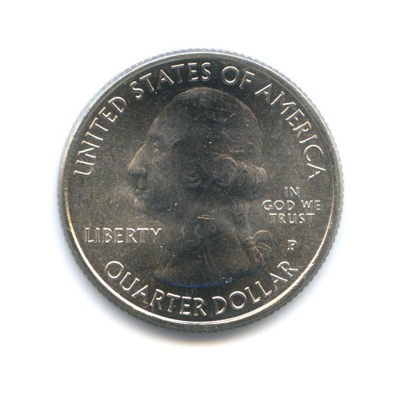 25 центов (квотер) — Рекреационная зона Чикасо, вцвете 2011 года P (США)