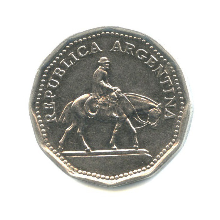 10 песо 1967 года (Аргентина)