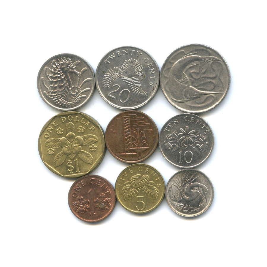 Набор монет (Сингапур)