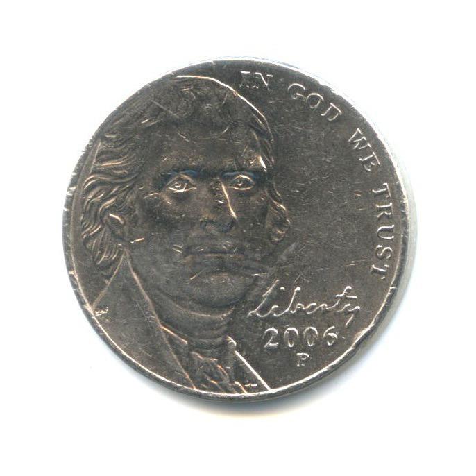 5 центов 2006 года P (США)