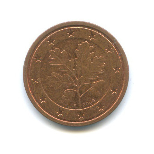 2 цента 2004 года F (Германия)