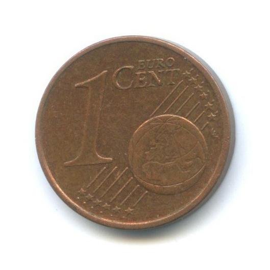 1 цент 2002 года J (Германия)