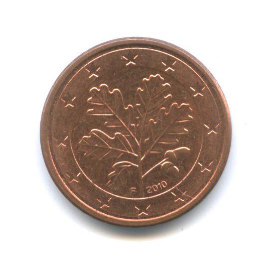 1 цент 2010 года F (Германия)