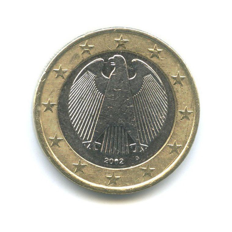 1 евро 2002 года G (Германия)