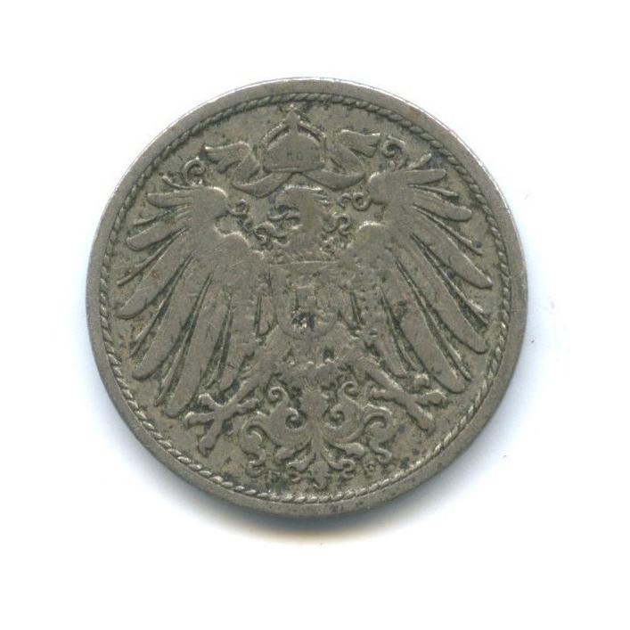 10 пфеннигов 1900 года F (Германия)