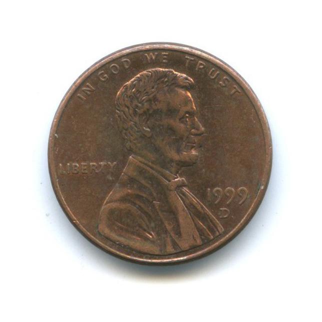 1 цент 1999 года D (США)