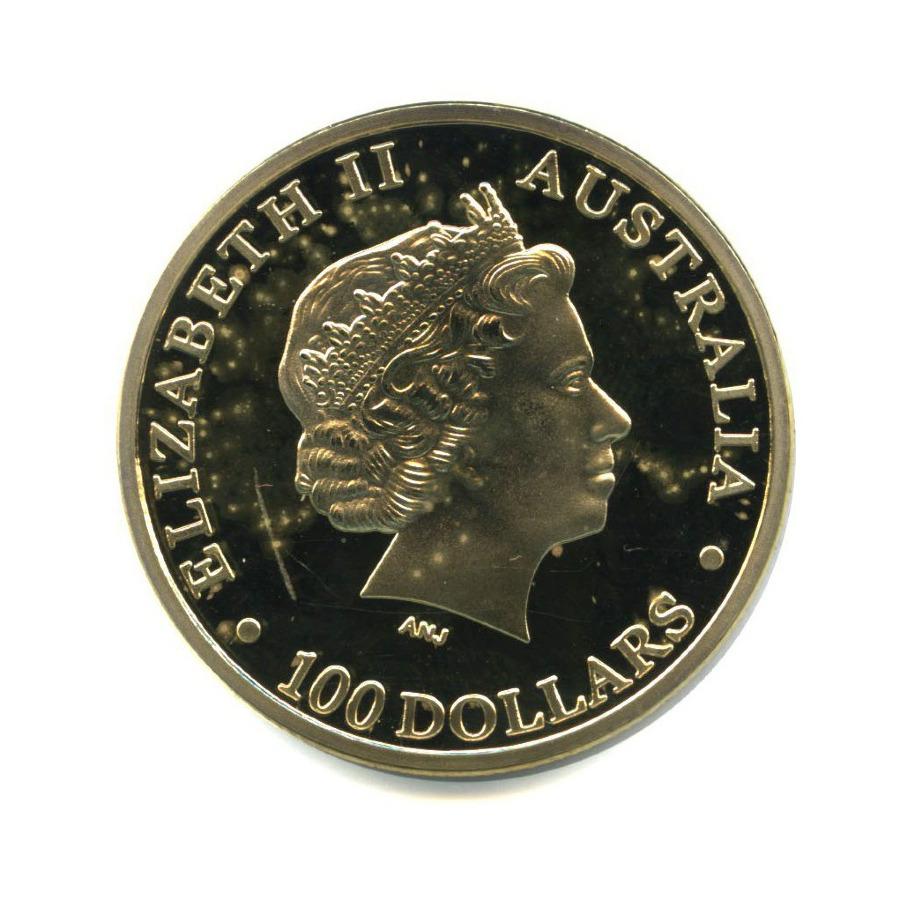 Жетон «100 долларов 2011 - Австралийский Кенгуру, Австралия»
