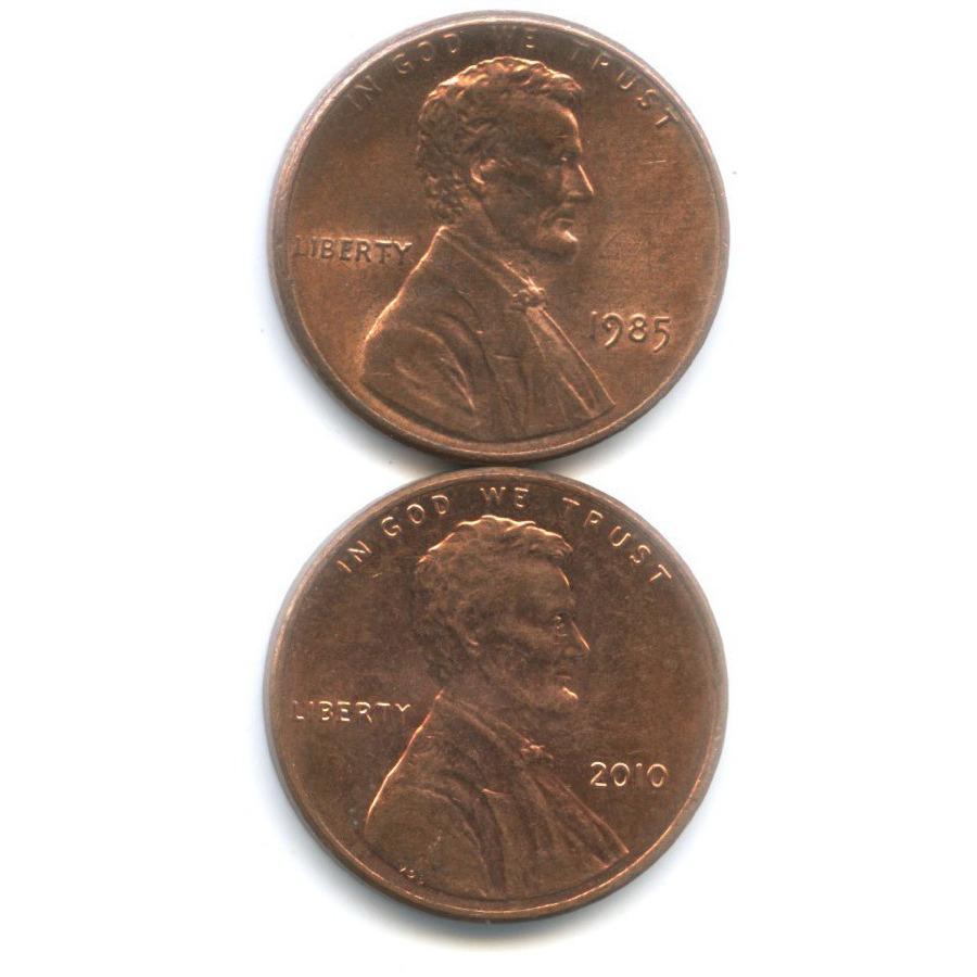 Набор монет 1 цент 2010 года (США)