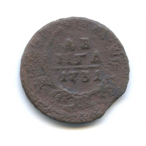 Денга (1/2 копейки) 1731 года (Российская Империя)
