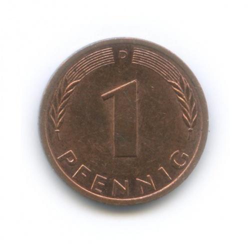 1 пфенниг 1990 года D (Германия)