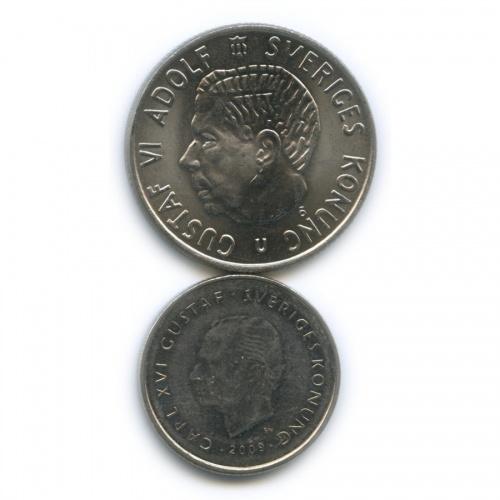 Набор монет 1969, 2009 (Швеция)