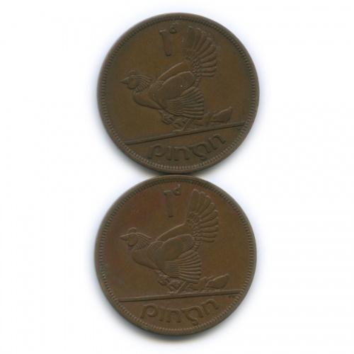 Набор монет 1 пенни 1942, 1950 (Ирландия)