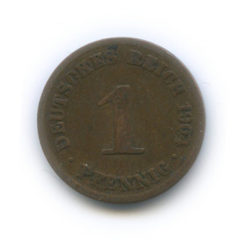 1 пфенниг 1904 года А (Германия)