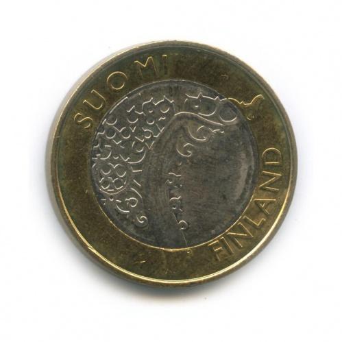 5 евро — Исторические регионы Финляндии - Исконная Финляндия 2010 года (Финляндия)