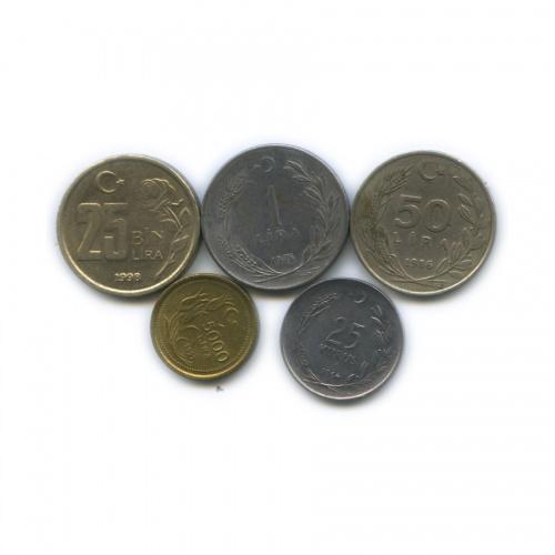 Набор монет (Турция)