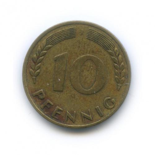 10 пфеннигов 1949 года J (Германия)