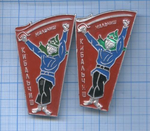 Значки «Мальчиш - Кибальчиш» (СССР)