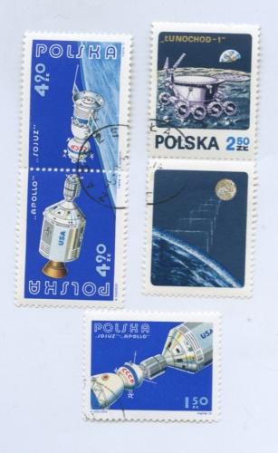 Набор почтовых марок «Космос» (Польша)