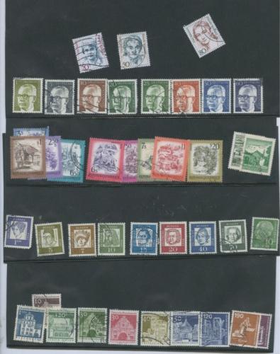 Набор почтовых марок (41 шт.) (Германия)