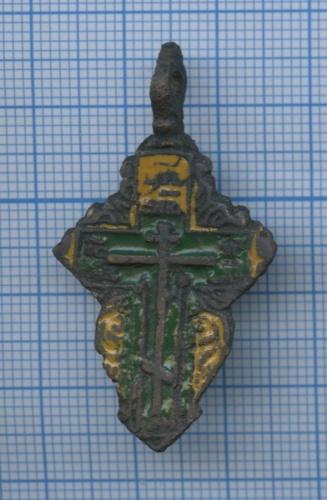 Крестик нательный (эмаль)