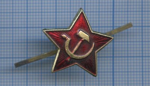 Кокарда «Красная звезда комсостава ВССССР» (СССР)