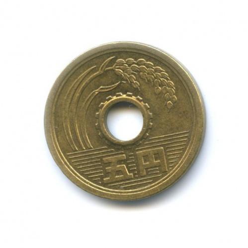 5 йен 1983 года (Япония)