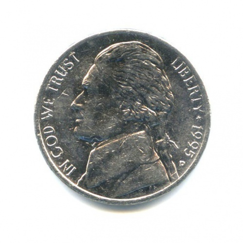 5 центов 1995 года D (США)