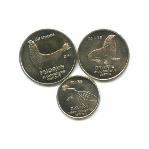 Набор монет - Животные, Острова Крозе 2011, 2013