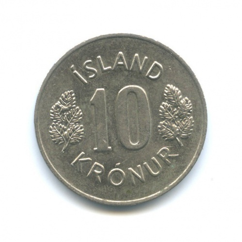 10 крон 1978 года (Исландия)