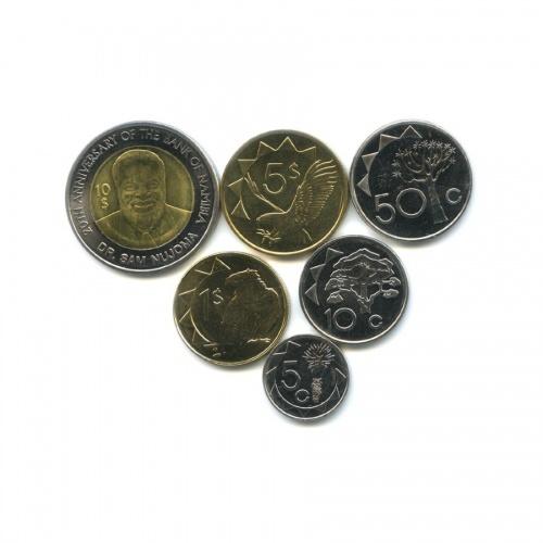 Набор монет, Намибия