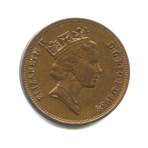 2 пенса 1988 года (Великобритания)