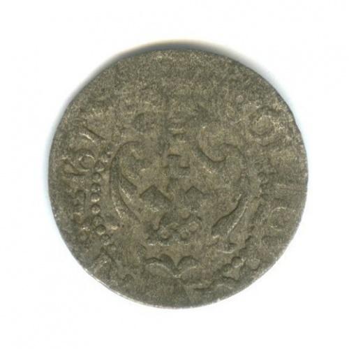 1 солид, Рига под властью Швеции 1661 года