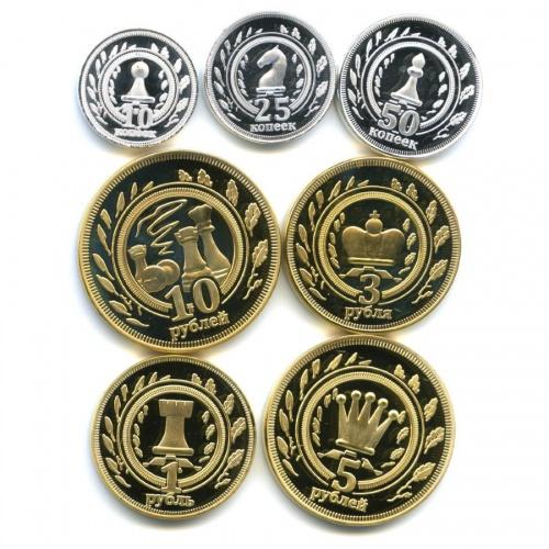 Набор монетовидных жетонов, Калмыкия 2013 года