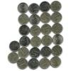 Набор монет 1 рубль (26 шт.) 1997-2016 СПМД, ММД (Россия)