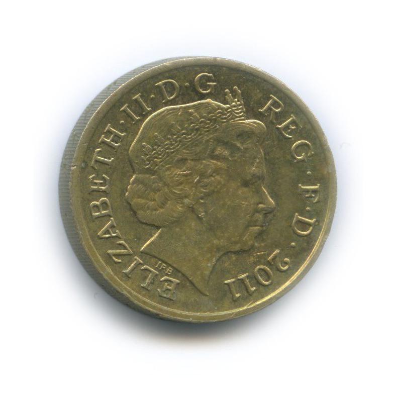 1 фунт - Кардиф 2011 года (Великобритания)