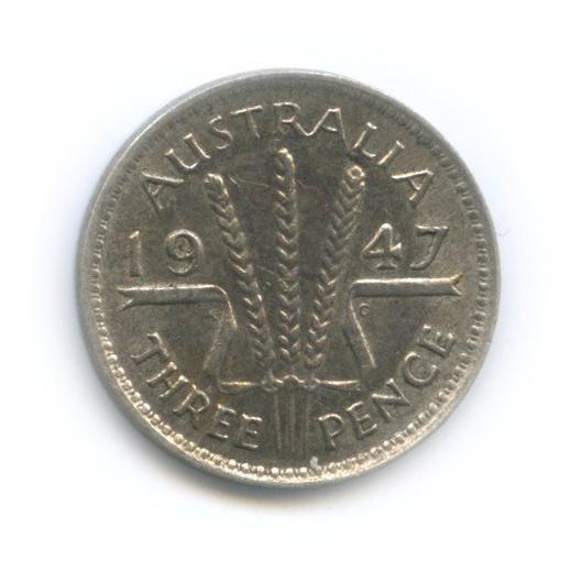 3 пенса 1947 года (Австралия)