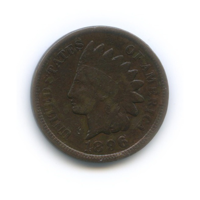 1 цент 1896 года (США)