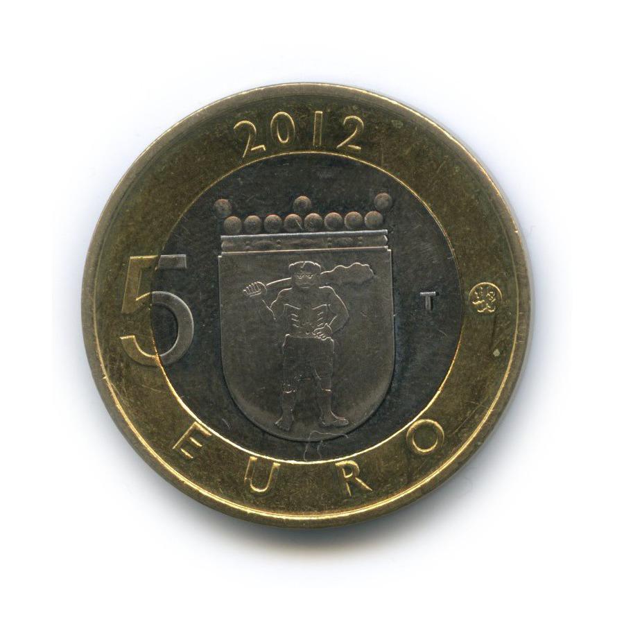 5 евро — Исторические регионы Финляндии. Строения - Лапландия 2012 года (Финляндия)