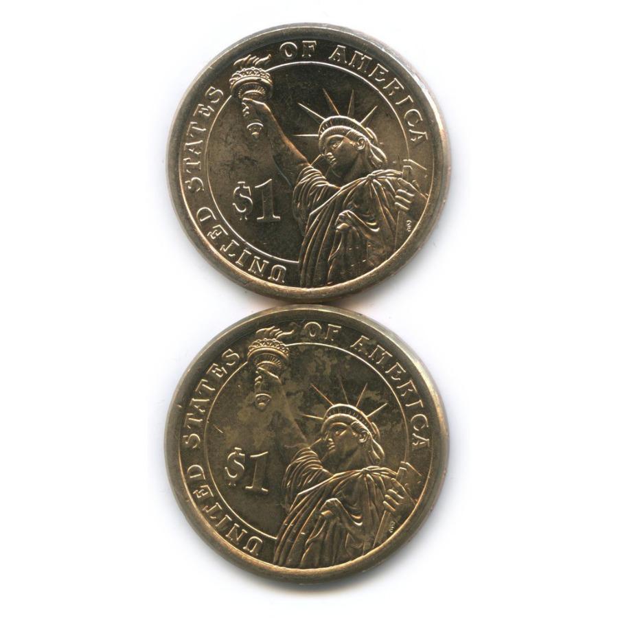 Набор монет 1 доллар — Президенты США 2015, 2016 Р (США)