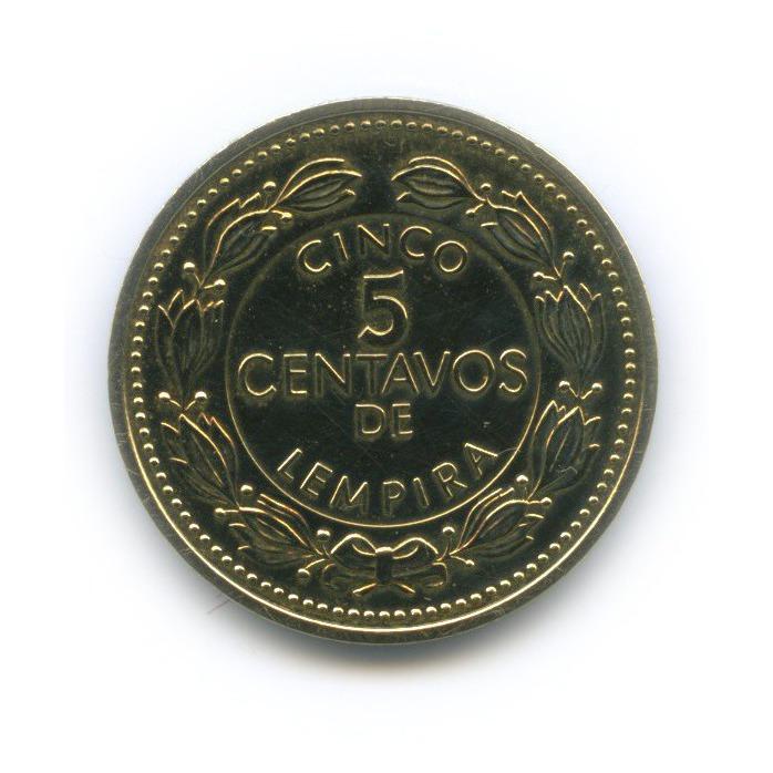 5 сентаво, Республика Гондурас 1998 года