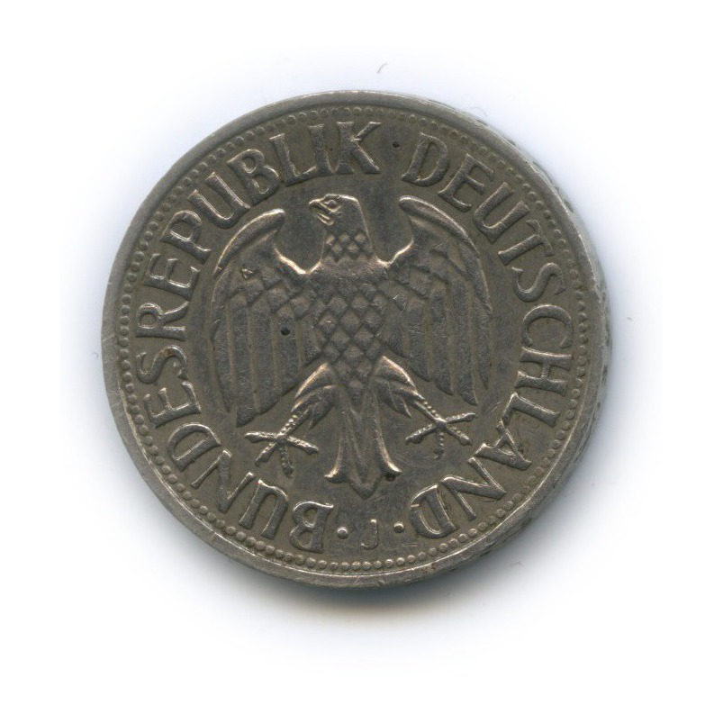 1 марка 1970 года J (Германия)